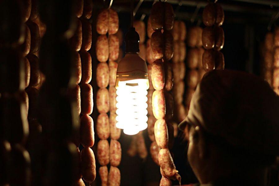 Thai Sausage Thaifood StreetFoods Local Market Foodphotography