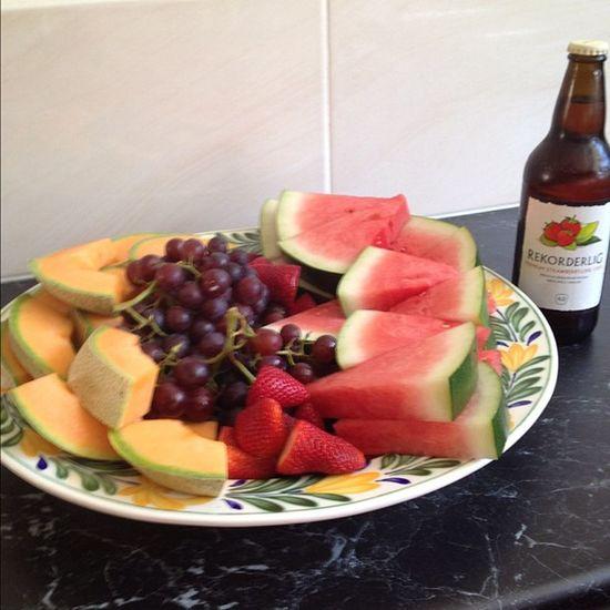 Coz we can ? Sun Rekorderlig Cider Fruit healthy