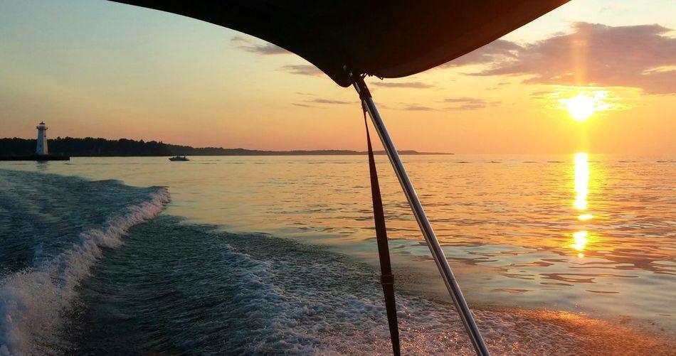 Summer Views Sunset_collection Sunset Boating Lake View EyeEm Best Shots - Sunsets + Sunrise Eyem Best Shots - UpstateNY EyeEm Best Shots - Landscape Skyline Sunsetreflections