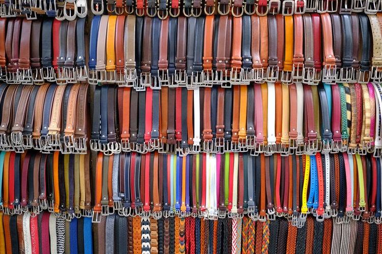 Belts, leather