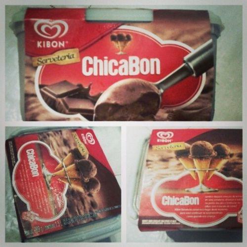 Sobremesa De Hoje Chicabon chocolate sorvete kibon delicía cremoso domingão instgood instalike