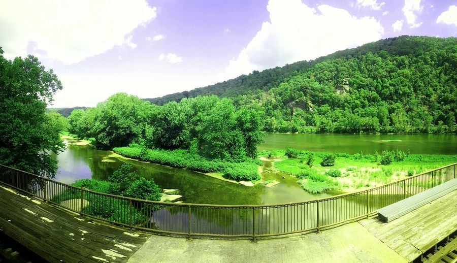 Harpers ferry...the meeting of the shanendoah and potomac rivers!
