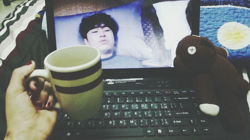 Watching Korean Drama Love