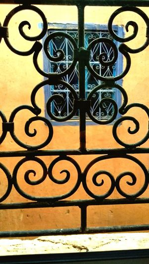 A Window in the Medina Marrocco Morrocobeauty Marrocco Metal No People Day Outdoors Wrought Iron Window Security Protection Iron - Metal Sunlight Art And Craft Close-up