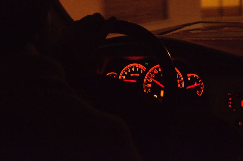 Car Night Night Lights