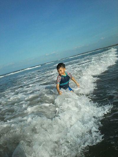 Natural waves = natural happiness