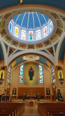 The Altar Place Of Worship Religion Spirituality Ukrainian Christian Church Absolutely Beautiful St. Mary Ukrainian Catholic Church Christianity Christian Faith Vancouver British Columbia Canada Stainedglasswindows Beautiful Ceilings Architecture