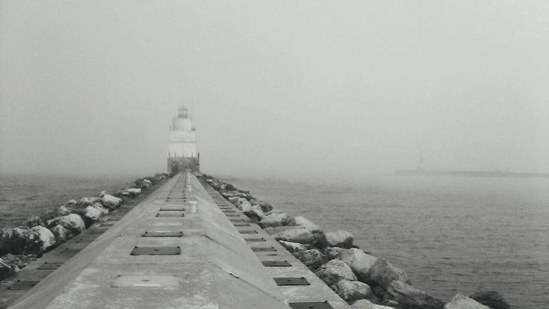 Hometown! Manitowoc Manitowoc Marina B&w Photography Fogrollingin Lighthouses Of Lake Michigan Lake Michigan