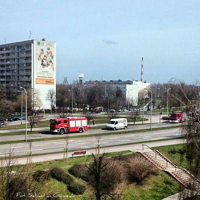 Firefighter Street Photography Job Done! #Salute Jastrzębie - Zdrój