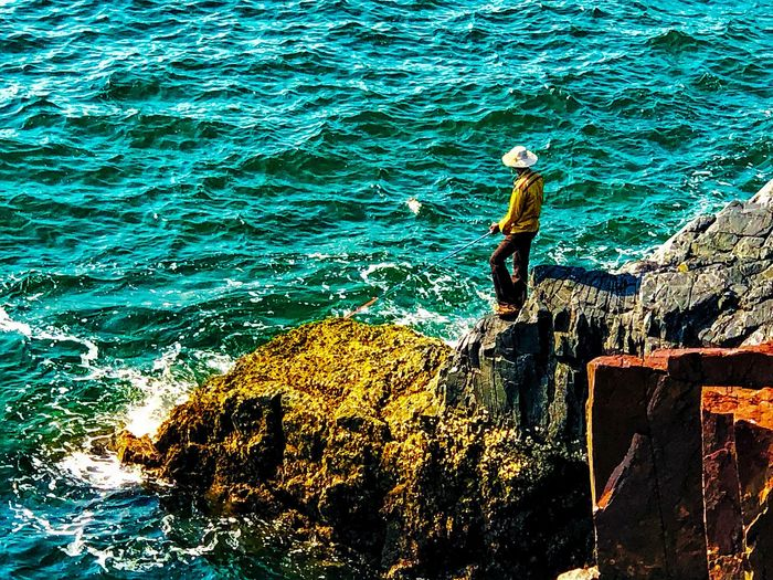 Go fishing Rock