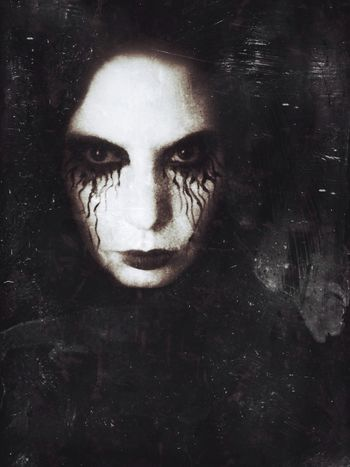 The earth is our mother She taught us to embrace the light Now the lord is master She suffers an eternal night DCD Dark Portrait NEM Self Dark Edit Darkness Vampires And Werewolves Dark Art Selfportrait Blackandwhite