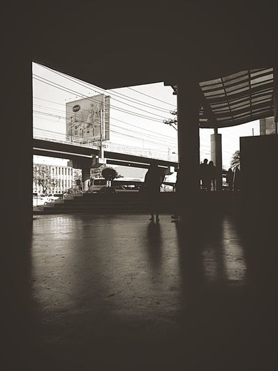 Frame Blackandwhite Photography Black And White Blackandwhite Morning Rush Morning Edsa EDSA AVE Architecture Day Pixelated