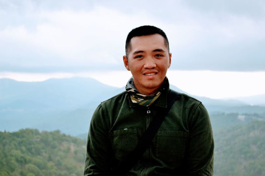 Portrait Only Men Looking At Camera Adults Only One Man Only Waist Up Smiling Adventure One Person Adult Front View Standing People Tranquility Day Nature Leisure Activity Vacations Outdoors Men It's Me Dalat Valle Vietnam