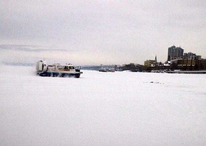 Samara Snow набережная Волга Snowy Days
