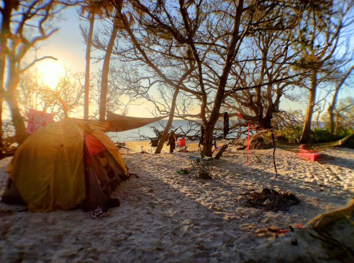 Our amazing oceanfront campsite this past weekend on Little Tybee Island! Lifes A Beach Life Is A Beach Little Tybee Island Campsite
