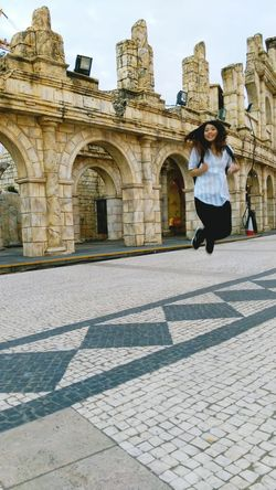 Jump😁😁 Jump Macau Cute Building Happy Smile Funny Enjoying Life Traveling Relax