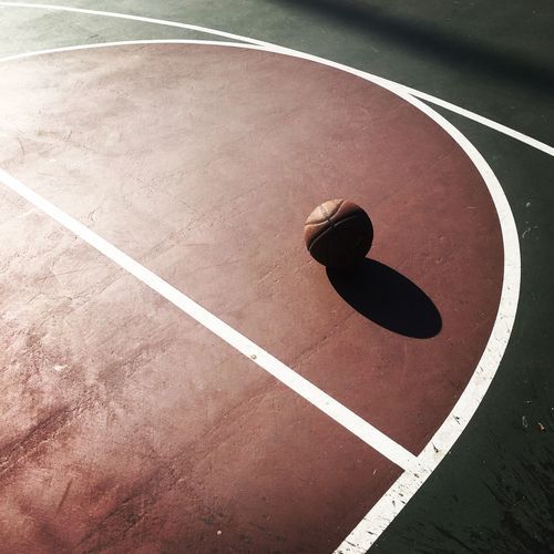 Basketball Basketball Court Sports Parks Outdoor Sports Play Ball Three Point Line North Glendale Glendale California California