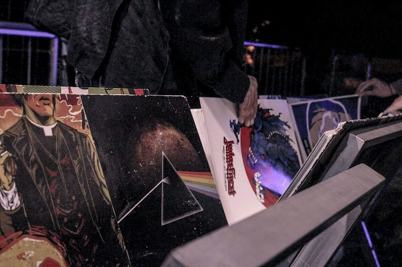 Work Tool Man Made Object Group Of Objects Transportation Messy Parked Pink Floyd The Dark Side Of The Moon Vinile