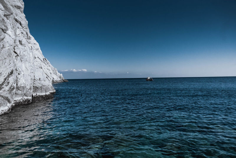 Sea Horizon Over Water Nature Scenics Beauty In Nature Blue Sky Beach Landscape Clear Sky Outdoors No People Day Water