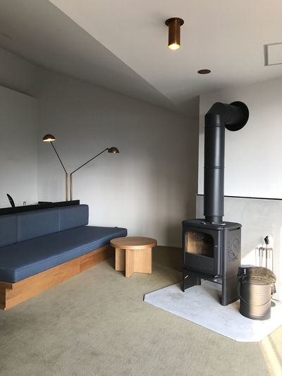 Nest Inn Hakone, Hyousekikaku. Indoors  Lighting Equipment Home Showcase Interior Home Interior No People Modern Architecture Floor Lamp Technology Domestic Room Illuminated Day Stove Design Hakone EyeEm Interior Design The Architect - 2017 EyeEm Awards