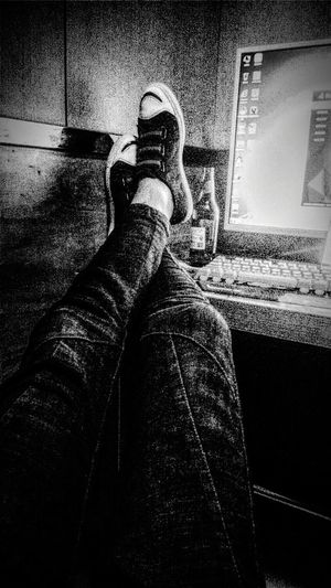 One Person Human Body Part Shoe Human Leg Real People Indoors  Low Section first eyeem photo