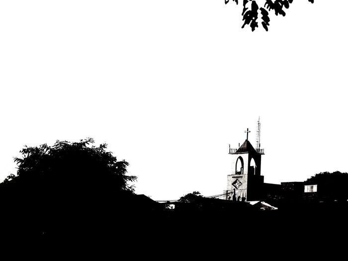 Igreja De São Tarcísio Bairro Nova Cintra BH Black And White Church
