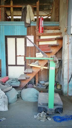 Part 2 Weighing Scale Staircase Calendar Sacks Fire Extinguisher Behind Closed Doors Samsungphotography Samsunggalaxygrandprime