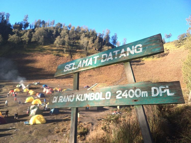 Ranu Kumbolo Mount Semeru INDONESIA The coldest place I have ever visited so far ❄❄❄