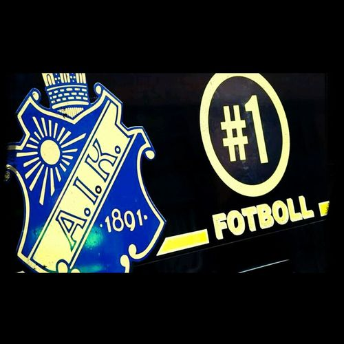 worlds greatest football team! Footballislife AIK Football Fans Sweden
