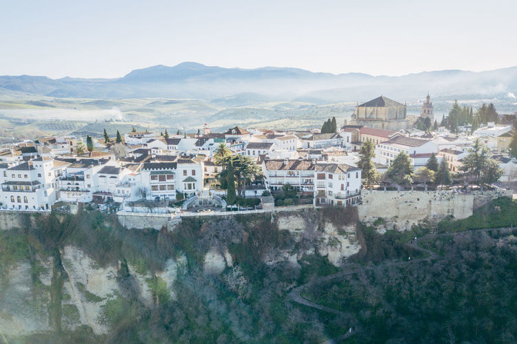 Andalucía City DJI X Eyeem Ronda Ronda Bridge Aerial View Architecture Bridge Day No People Outdoors