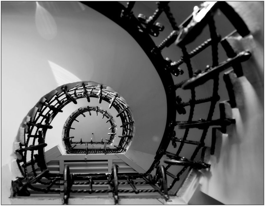 Ul. Piernikarska 1 Old Town Old Buildings Sigma 18-35 F1.8 Nikonphotography D7100 Nikon D7100 Tsf Bw Monochrome Black & White Blackandwhite Light And Shadow Architecture Stairs Spiralstaircase Nikon