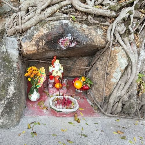 A Shrine by Paktaitemple in Stanley , HongKong .