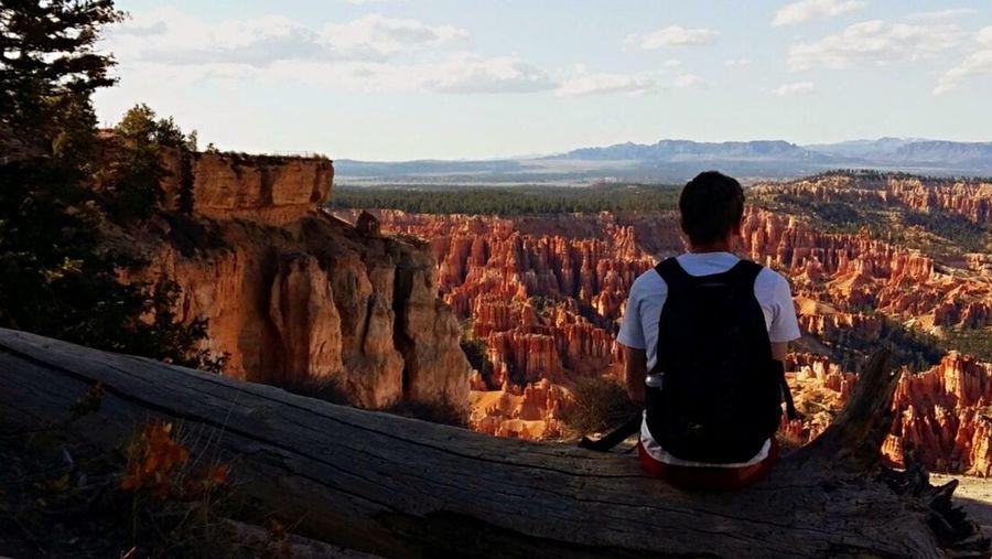 Bryce Canyon Bryce Canyon National Park Vacation Holiday Leisure Activity Enjoying Life Stunning Utah Sky Mountain