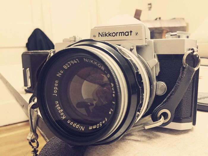Another vintage camera add to my list! This time it's a Nikkormat Nikon Nikkor Vintage Cameras Camera Film Analogue Photography Analog Camera Filmphotography 35mm Film