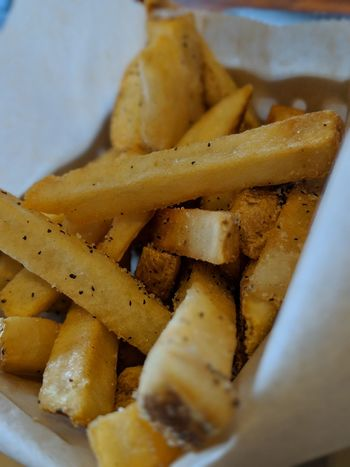 Fresh Cut French Fries Finger Food Cooking Cooking At Home Food Preparation Dinner Dinner Time Food And Drink Food No People Indoors  Freshness