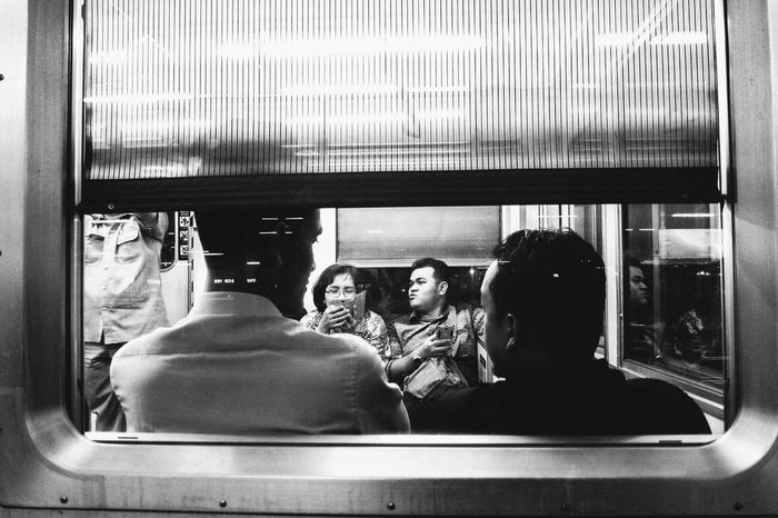 Life Public Transportation People Leisure Activity Streetphotography Blackandwhite First Eyeem Photo