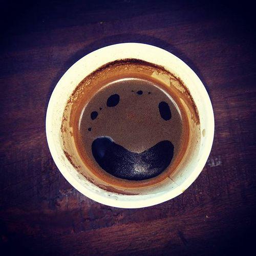 Кофе смотрит на меня и улыбаеться ! Cafe Smile Walkme