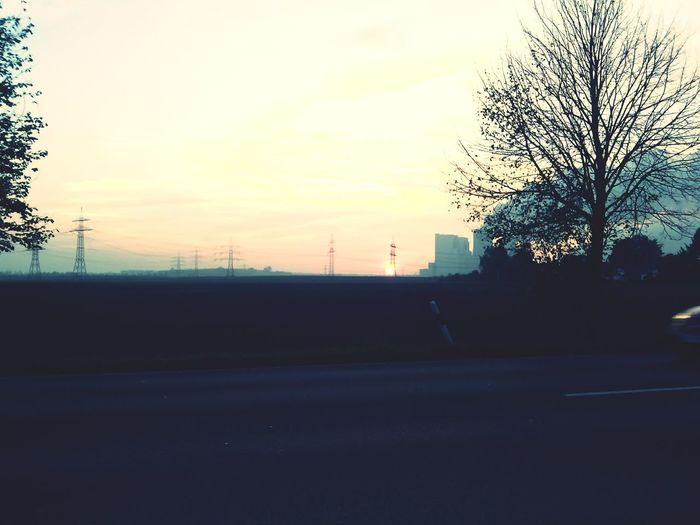 Sonnenuntergang :D mit meinem schatzi Goodnight Sonnenuntergang