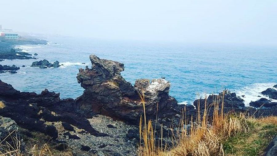 Dragon-head rock Atm Nature Rock Seaside JEJU ISLAND