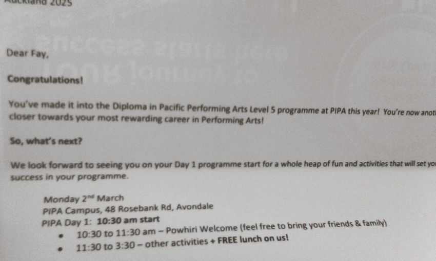 Performing Arts Diploma Pacific Istitute Of Performing Arts