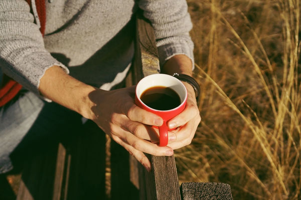 Holding Cup Drink One Person Food And Drink Mug Refreshment Real People Human Hand Coffee Coffee - Drink Coffee Cup Midsection Hand Focus On Foreground Lifestyles Day Adult Freshness Hot Drink Outdoors Drinking Tea Cup