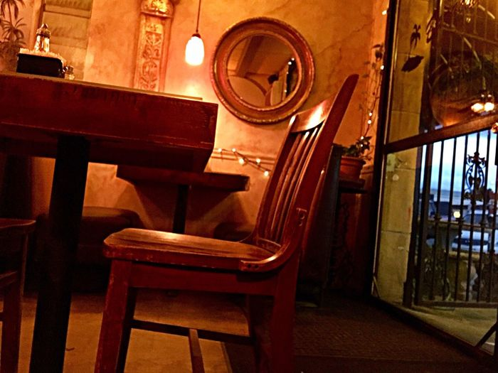 Indoors  No People Seat Dinner Time Table For One Cuban Atwater Village