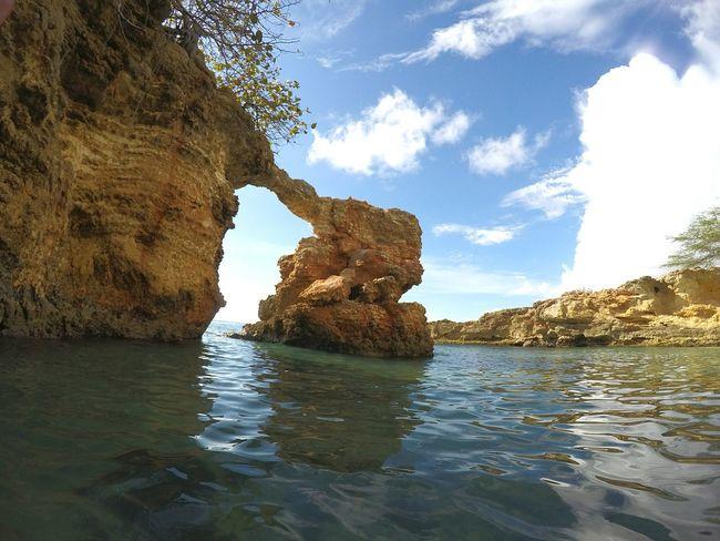 Puente De Piedra Nubes Blue Sky Playa Beach Natural Beauty Cabo Rojo, PR Puerto Rico Belleza Natural Bellezanatural