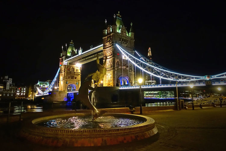 Tower Bridge at night - The Thames, London, England Architecture Bridge - Man Made Structure Building Exterior Built Structure City Illuminated Night No People Outdoors Sky The World Before Bin Laden Tourism Tower Bridge, London Tower Of London Bridge Travel Destinations Water EyeEm LOST IN London The Week On EyeEm Lost In The Landscape Postcode Postcards Stories From The City The Great Outdoors - 2018 EyeEm Awards The Traveler - 2018 EyeEm Awards My Best Travel Photo Holiday Moments Capture Tomorrow