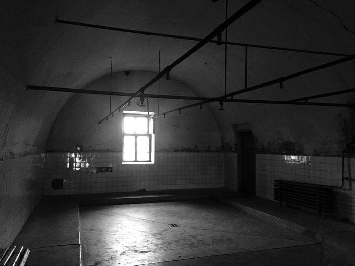 Terezín Shower Indoors  Jude Czech Republic Arbeit Macht Frei Religion Concetrationcamp