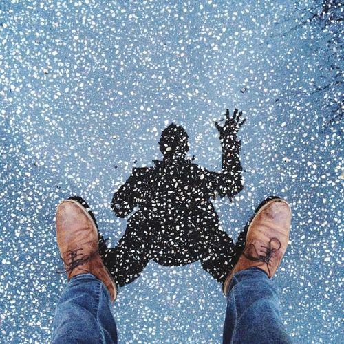 Classic Déjà Vu Photo Shoot Salut A Tous :) Puddle Reflection Water Reflections Selfportrait_tuesday_nonchallenge