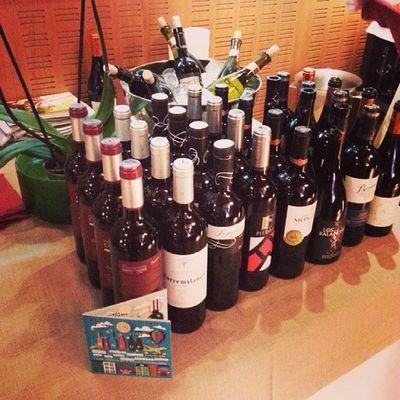 Todo preparado en @damasqueros para el Wineuptour en Granada