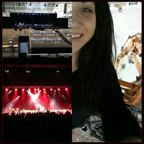 Yesterdays Work with Eric Saade & Sundahl rock orchestra at Värnersborgs Arena . Musiklagret Borås That's Me