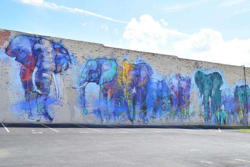 Deep Ellum Dallas Graffiti Art Street Art Watercolor