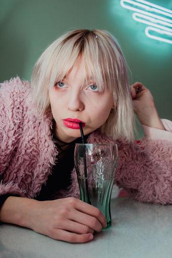Drink Portrait